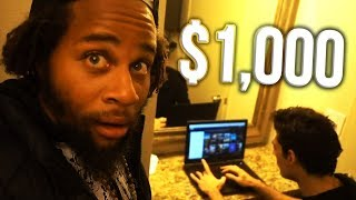 Homeless Man Earns $1,000 After Being Taught How To Stream