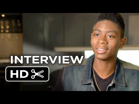 Me and Earl and the Dying Girl Interview - RJ Cyler (2015) - Olivia Cooke Drama HD