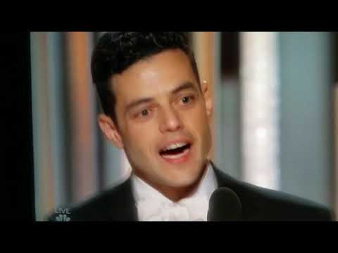 Rami Malek wins golden globe for best actor