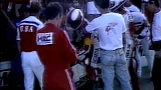 Mike Baldwin Honda Suzuka 8 Hours Pit Stop 1984
