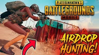 PUBG MOBILE | AIRDROP HUNTING :) ONLY CHICKEN DINNER 😍