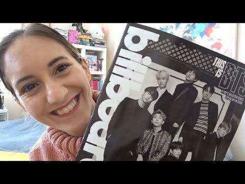 [UNBOXING] BTS Billboard Magazine