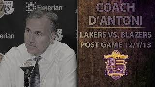 Lakers vs. Blazers: Coach D