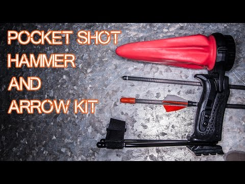 The Pocket Shot Hammer and Arrow Kit