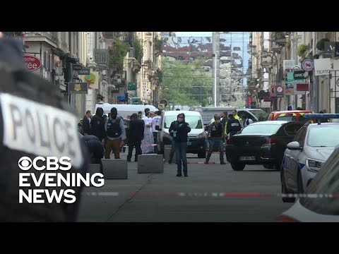 Manhunt underway after blast injures at least 13 in France