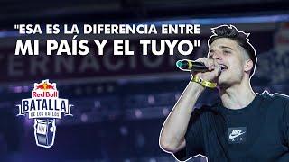 Top 10 mejores rimas de la Final Internacional de Argentina 2018 | Red Bull Batalla de los Gallos