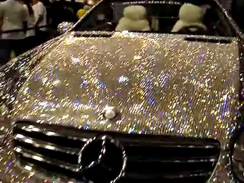 Diamond Covered Mercedes in Dubai