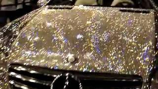 Diamond Covered Mercedes in Dubai