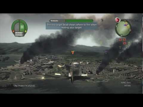 Damage Inc Pacific Squadron WWII gameplay on the Xbox 360