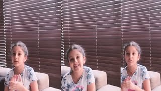 Mahesh Babu Daughter Sitara Cute Message To Pet Lovers  | Sitara Latest Video | Fata Fut News