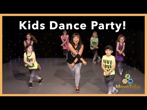 "Kids Learn a Dance to ""Can't Stop the Feeling"" by Justin Timberlake!"