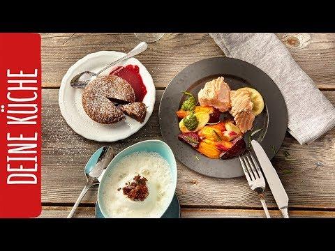Schnelles 3-Gänge-Menü | REWE Deine Küche