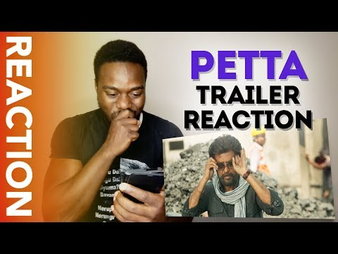 PETTA TRAILER - MARANA REACTION by African Kaali !!!! THIS MOVIE is for the RAJINI FANS