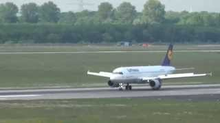 Flughafen Düsseldorf | Düsseldorf Flughafen Flugzeug Abflug