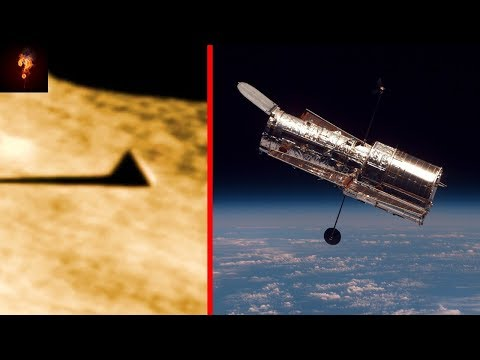 Hubble Takes Picture Of Pyramid On The Moon?