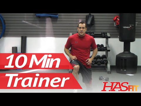 10 Minute Trainer Workouts To Lose Belly Fat Fast!