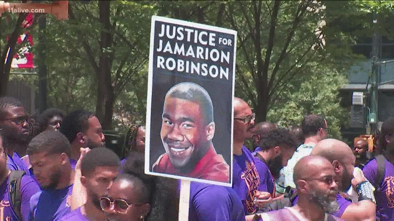 Hebrew Isrealites join Protest  demands justice, answers in Jamarion Robinson death