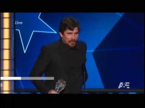 Christian Bale Tears Up While Gushing About His Wife Sibi: She's the 'Most Strong Woman'