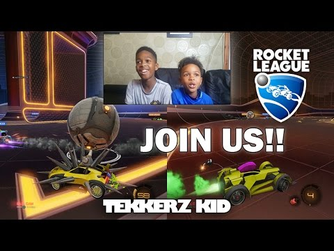 ROCKET LEAGUE'S WORST PLAYER EVER!! | PLAY WITH US!!