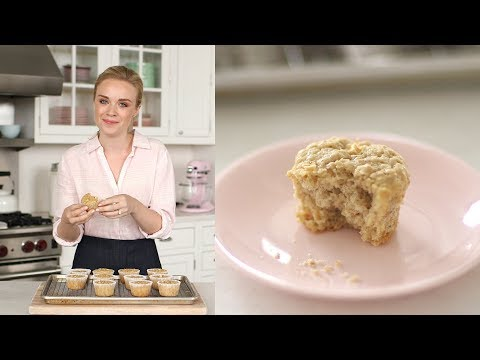 Apple-Oatmeal Muffins- Sweet Talk with Lindsay Strand