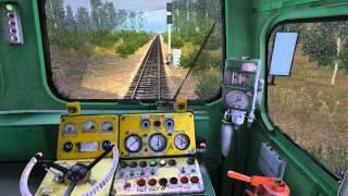 Trainz Simulator 12. 2ТЭ10В-4036 (2TE10V-4036).