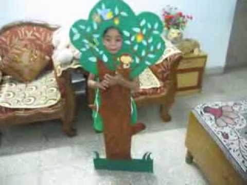 Save Tree And Nature By SHAGUN In PREP Class Fancy