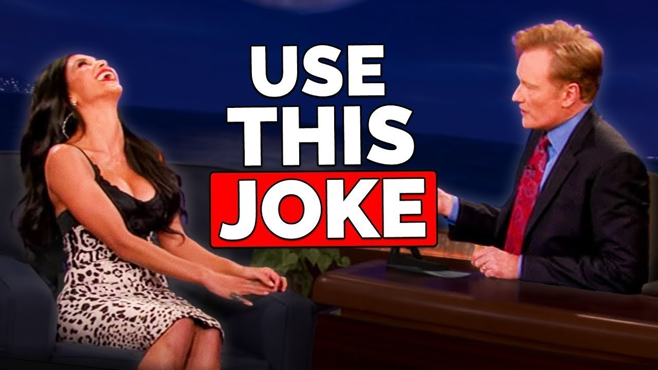 conan o brien how to be witty youtube