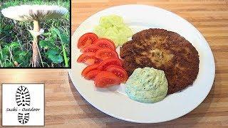Sackis Küche: Parasol-Schnitzel (Gemeiner Riesenschirmling)