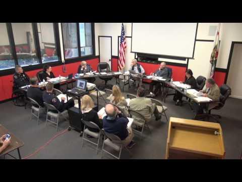 April 18, 2017 Board Meeting