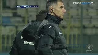 Gaz Metan vs Voluntari | Golubovic deschide scorul