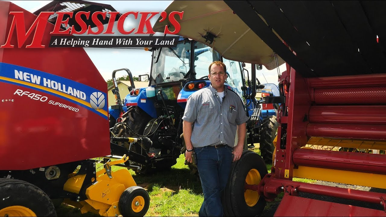 New Holland Round Balers: RB series VS  RF series