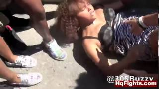 Puerto Rican chick fight