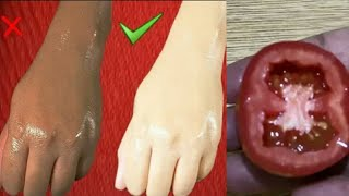 Surprising! add this to tomato for skinwhitening, skin glow #skinwhitening
