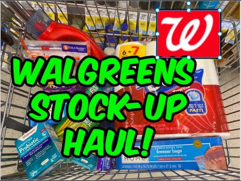WALGREENS STOCK-UP HAUL (8/9 - 8/15)