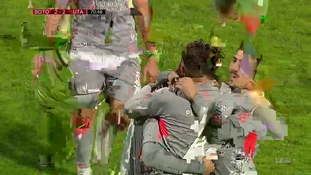 Rezumat: Botosani - UTA 2-3! Meci cu greseli de arbitraj si un gol senzational