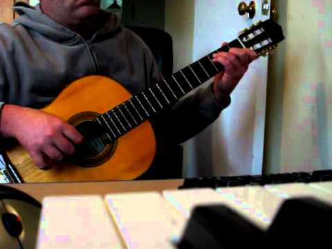 He Doesn't Know Why By Fleet Foxes - Classical Guitar