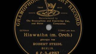 Robert Steidl: HIAWATHA (ca. 1904)
