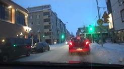 Matka kohti Kuopion keskustaa alkoi 20.1.2012