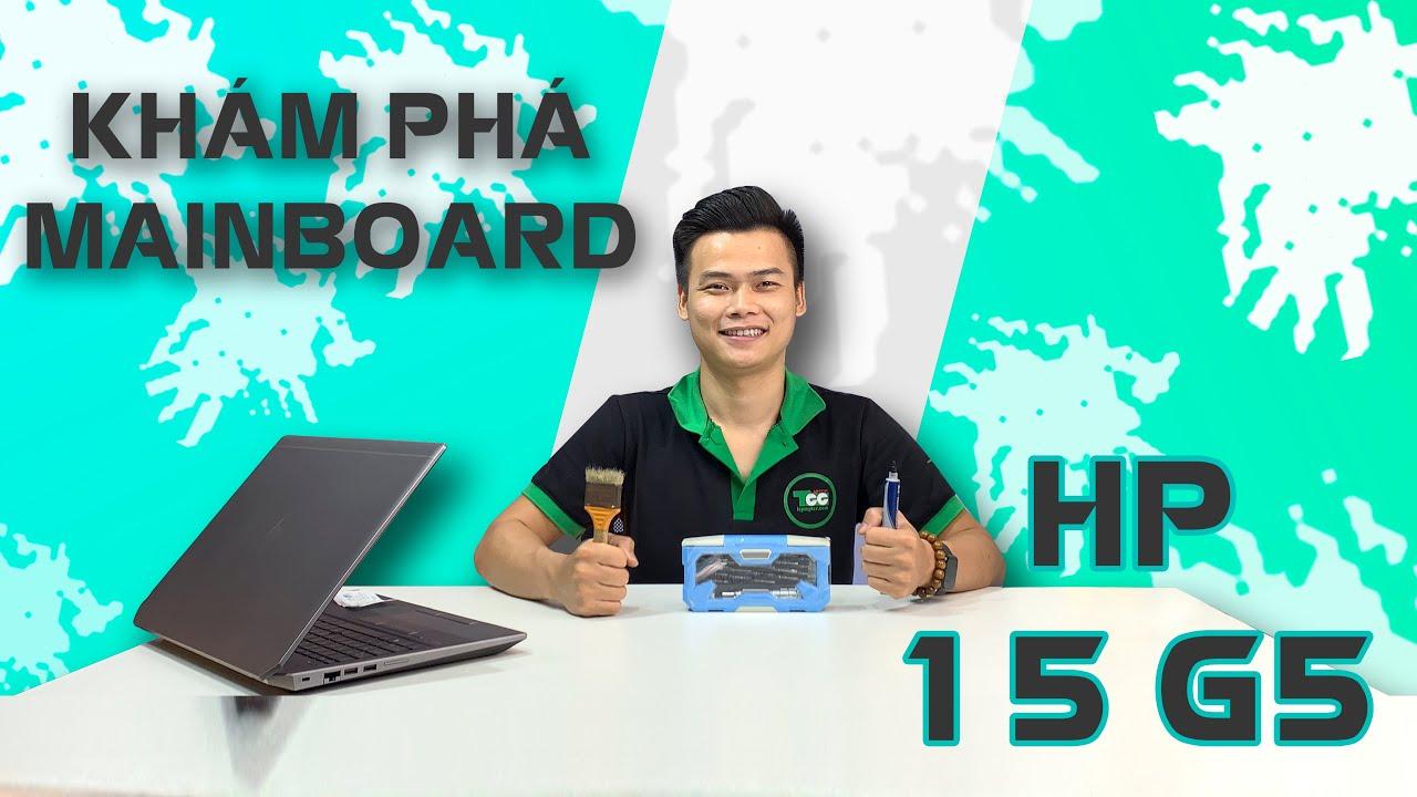 [ Khám phá MAINBOARD Laptop ] HP Zbook 15 G5 - Bí Mật Được Nằm Ở Bên Trong!!