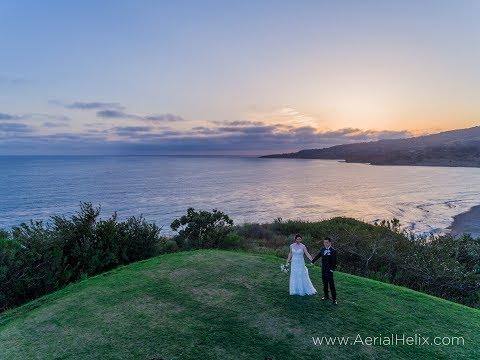 HELIX:  Hwan + Jen - Aerial Wedding Video - Best Drone Videos