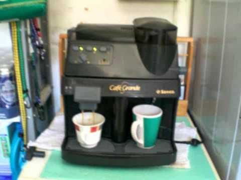 Saeco Cafe Grande kleiner Kaffee