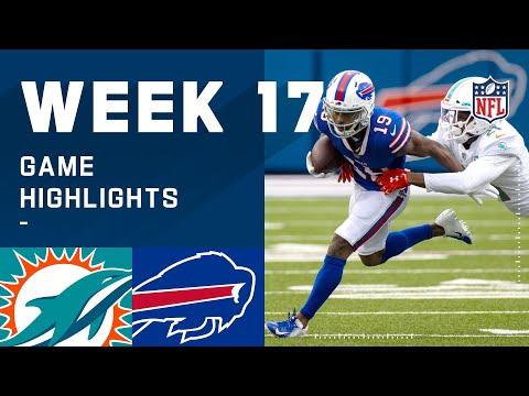 Dolphins vs. Bills Week 17 Highlights | NFL 2020
