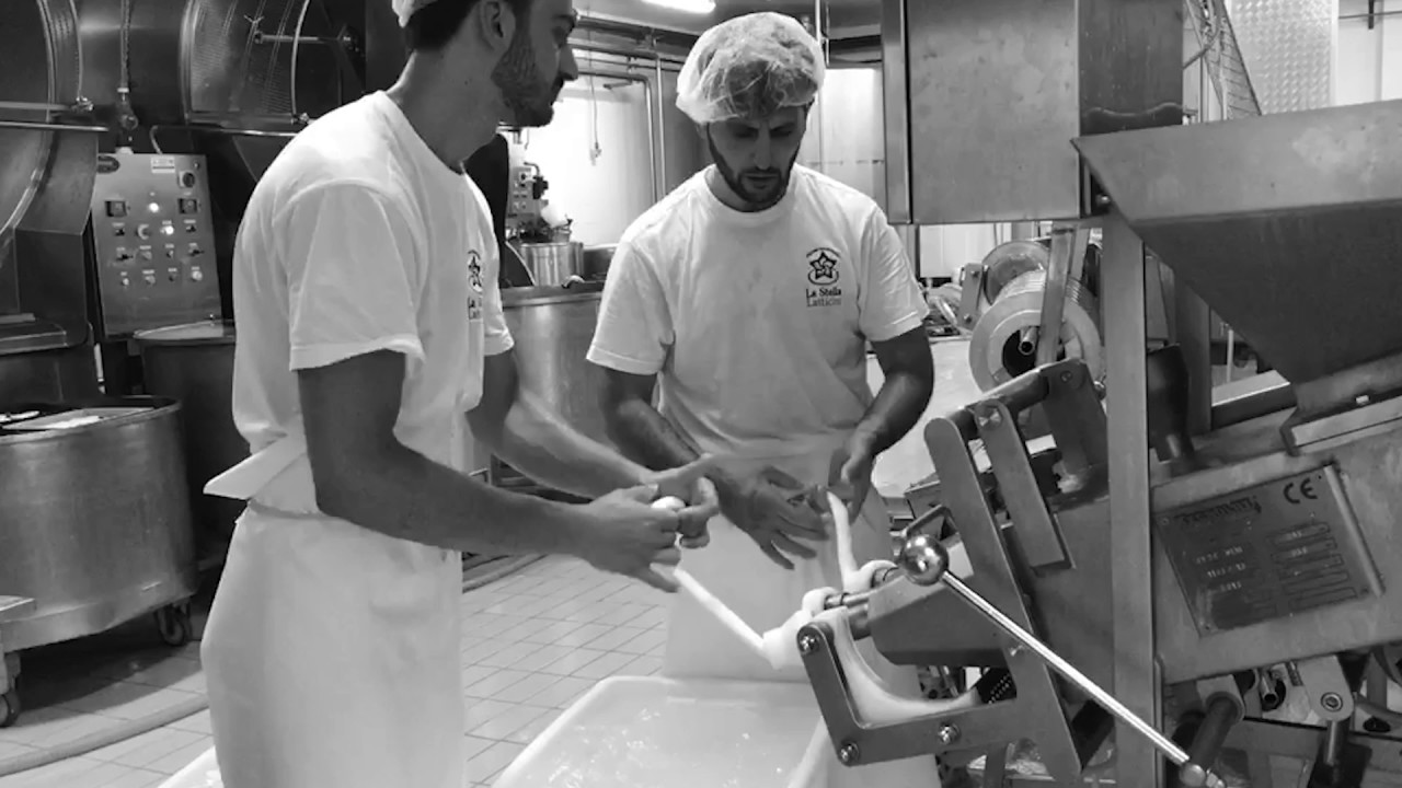 How To Make Nodini Cheese ~ Caseificio La Stella Latticini