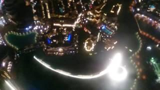 Dubai burj khalifa fountain show