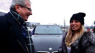 Саша Савельева ездит на BMW X5