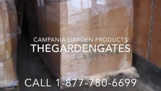 Shipping Campania International Garden Products- Thegardengates.com