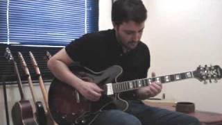 Epiphone Sheraton II - Shery Blues