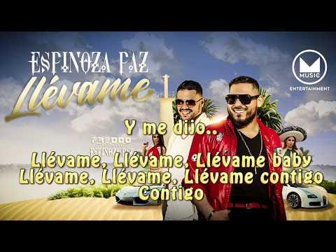 Espinoza Paz x Freddo - Llévame (Lyrics video)