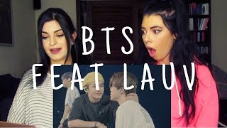 BTS feat  LAUV - MAKE IT RIGHT M/V | REACTION