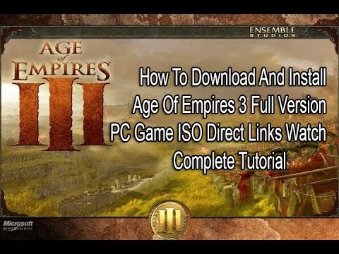 age of empires 3 highly compressed 50mb